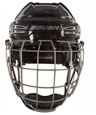 Photo of Bauer Re-Act Caged Hockey Helmet