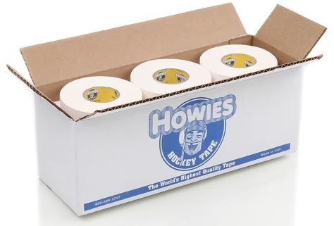 Photo of a box of Howies hockey tape