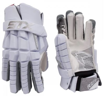 Photo of the STX Surgeon RZR Lacrosse Gloves