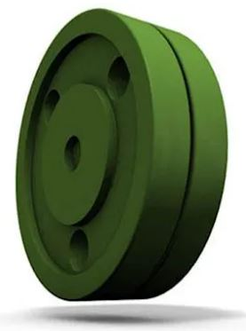 Photo of the Green Biscuit Training Puck