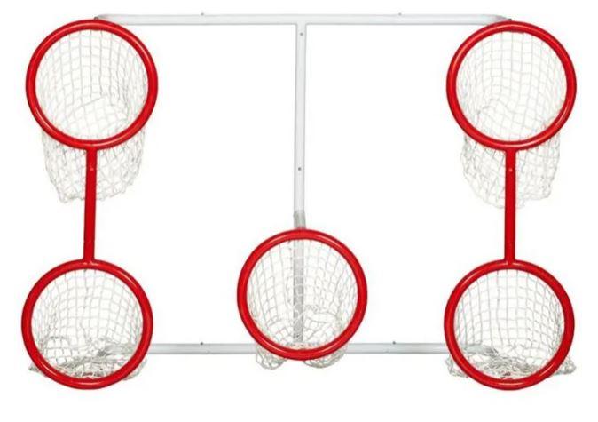Winwell 5-hole hockey skills net